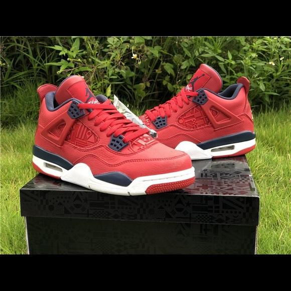 Air Jordan Retro 4 Fiba | Poshmark